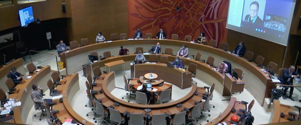 Extrait du Conseil Municipal de l'Eurométropole de Strasbourg